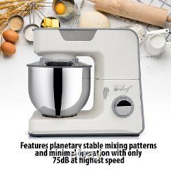 Déco Chef 5.5 Qt Kitchen Stand Mixer, 550w 8-speed Motor, Avec Pièces Jointes De Mélange