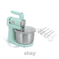Électrique Cake Stand Mixer Food Mixing Bowl Beater Dough Kitchen Multi Blender