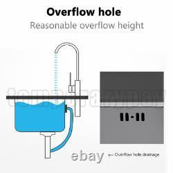 Évier De Cuisine En Acier Inoxydable Golkar Under/topmount Sinks Laundry Bowl 29,5 Pouces