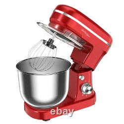 Healthy Choice Electric 1200w MIX Master 5l Stand Mixer Withbowl/whisk/beater Red
