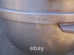 Hobart Vmlh-60 Bol De Mélange En Acier Inoxydable 60 Quart Pour Mélangeur De Stand Commercial
