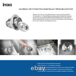 Inoxs 30x21x10 Ferme Tablier Cuve Simple En Acier Inoxydable Évier De Cuisine