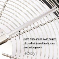 Ipower 19-inch Hydroponic Cut Leaf Pro Bowl Trimmer Twisted Plant Bud Spin Cut