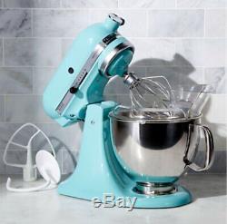 Kitchen Aid Artisan (ksm150psaq) Tête Inclinable Batteur Aqua Sky, Tout Neuf