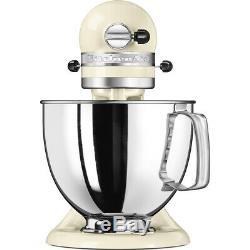 Kitchenaid 4.8l Artisan Batteur Sur Socle 5ksm125 Crème D'amandes