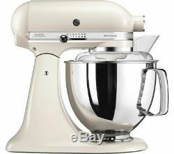 Kitchenaid 4.8l Artisan Batteur Sur Socle 5ksm125 Latte Café (crème)