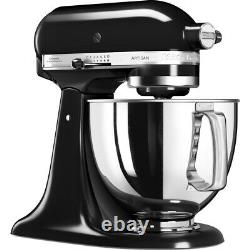 Kitchenaid 4.8l Artisan Stand Mixer 5ksm125bob Onyx Noir