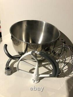 Kitchenaid 6 Quart Lift Stand Mixer Bowl Acier Inoxydable + 3 Pièces Jointes