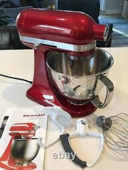 Kitchenaid Artisan Mini Stand Mixer, 3,5 Litres, Candy Apple Red