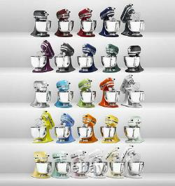 Kitchenaid Artisan Series Toutes Les Métaux 5 Qt. Thilt Head Stand Mixer De Nombreuses Couleurs