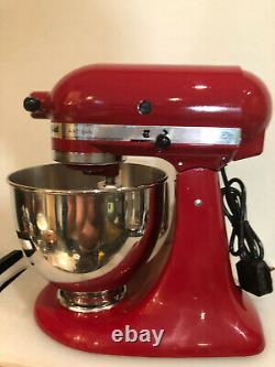 Kitchenaid Artisan Stand Mixer 5ksm150ps Empire Rouge