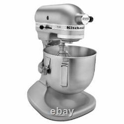 Kitchenaid Heavy Duty Pro 500 Stand Mixer Lift Rksm500pscs Métal 5-qt Silver