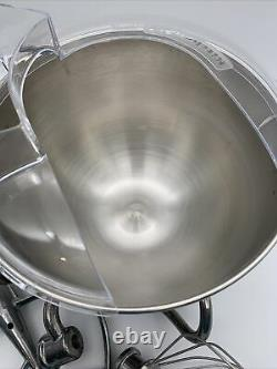 Kitchenaid Inoxydable Bol Poignée Lift Mixer 6 Qt Avec Pièces Jointes Nouveau