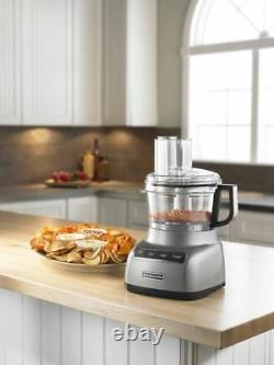 Kitchenaid Kfp0711cu 7-cup Exact Slice Food Processor Contour Argent
