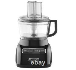 Kitchenaid Kfp0711ob 7-cup Exact Slice Robot Culinaire Onyx Black