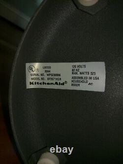 Kitchenaid Kp2671xgr 6-qt. Professional 6 Series Stand Mixer Imperial Gray