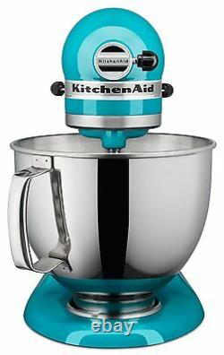 Kitchenaid Ksm150pson Artisan Stand Mixer Avec Pouring Shield, 5 Qt Ocean Drive
