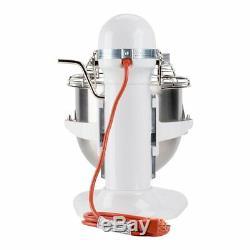 Kitchenaid Ksmc895wh Commercial Batteur Sur Socle 8 Pintes En Acier Inoxydable Blanc Nouveau