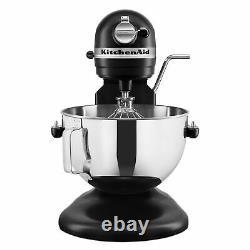 Kitchenaid Pro 5 Plus 5 Quart Stand Mixer Matte Black Nouveaux Navires Maintenant