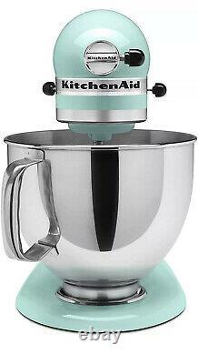 Kitchenaid Pro 5 Plus Kv25g0x Ice Blue 5-quart Bowl-lift Stand Mixer Nouveau