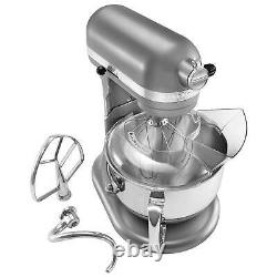 Kitchenaid Professional 600 6 Qt Lift Bowl Stand Mixer (remis À Neuf) Argent