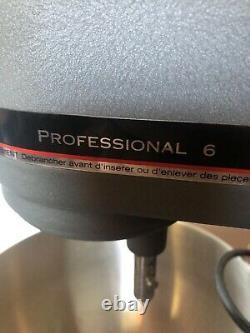 Kitchenaid Professional 600 Bowl Lift Stand Mixer 6 Qt Avec Pièces Jointes