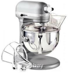 Kitchenaid Rkp26m1xcs Professional 600 Mixer Stand 6 Quart De 10 Vitesses Puissance Argent