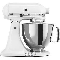 Kitchenaid Rrk150wh Blanc 5 Litres Artisan Stand Mixer (remis À Neuf) Rrk150wh