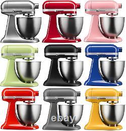 Kitchenaid Stand Mixer Tilt 3.5-qt Rksm33xx Artisan Mini Tilt Choisir De Nombreuses Couleurs