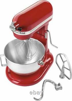 Mélangeur De Stand Kitchenaid Professional 5 Plus Series (empire Red) Kv25g0xer