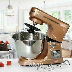 Neo Food Baking Electric Stand Mixer 5l 6 Speed Steel Mixing Bowl 800w