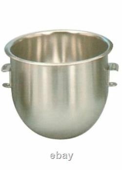Nouveau 12 Qt Mixing Bowl Hobart Mixer Acier Inoxydable Uniworld Um-12b Nsf #3847