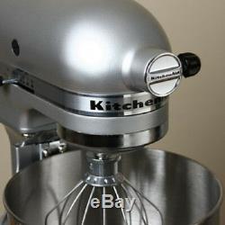 Nouveau Kitchenaid Batteur Sur Socle En Métal Argenté Métalliques 4,5 Pintes En Acier Inoxydable Lift Bowl