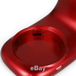 Pro Électrique Alimentaire Batteur Sur Socle 7 Qt Tête Inclinable À 6 Vitesses Cuisine Inoxydable Bol Rouge