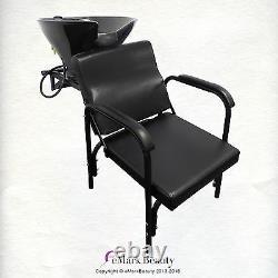 Salon Shampooing Tilt Bowl Sink Wall Mounted Inclining Shampoo Chair Tlc-b36wt-216