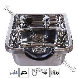 Shampooing Bol En Acier Inoxydable Shampooing Sink Salon De Coiffure Salon De Beauté Poli Tlc-1168