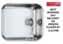 Smeg Alba (um45) 1.0 Single Bowl 45cm Stainless Steel Undermount Sink -flambant Neuf