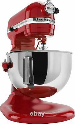Tout Nouveau Kitchenaid Pro 5 Plus 5 Quart Bowl-lift Stand Mixer Empire Red