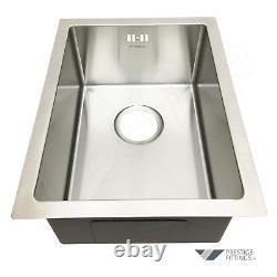 Undermount Kitchen Sink Single Bowl, Haute Qualité, 1.2mm Thick, 340x440x200mm