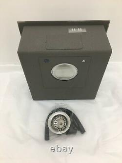 Undermount Kitchen Sink Single Bowl, Haute Qualité, 1.2mm Thick, 440x440x200mm