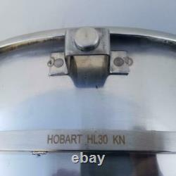 Véritable Hobart Hl30kn Pour Hobart Hl300 Legacy 30 Qt Mixer Bol En Acier Inoxydable