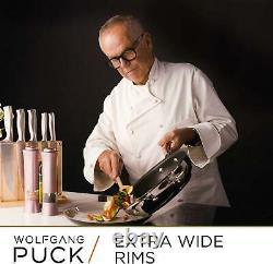 Wolfgang Puck 15 Pièces En Acier Inoxydable Ensemble De Produits De Cuisine Avec Des Bols De Mélange Scratch-r